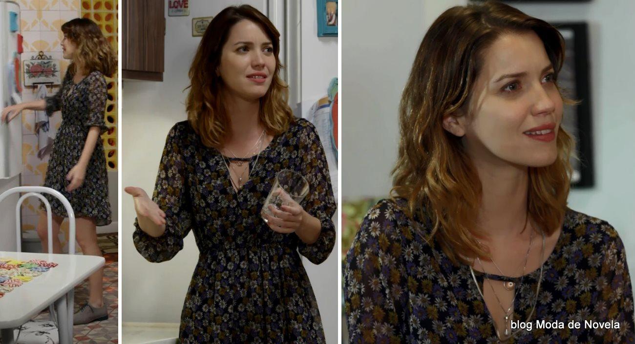 moda da novela Alto Astral, look da Laura dia 13 de novembro