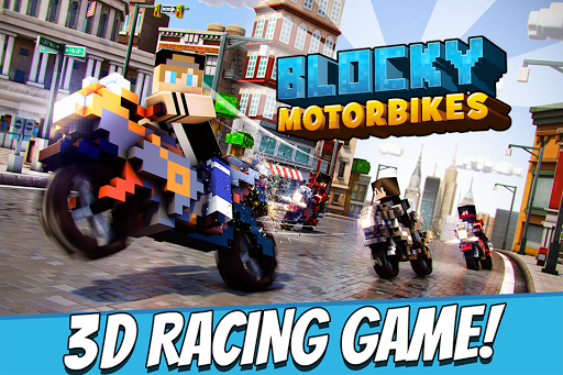 Blocky Motorbikes Racing Game
