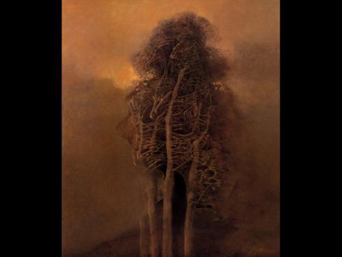 Zdzislaw Beksinski Dead Tree, Death
