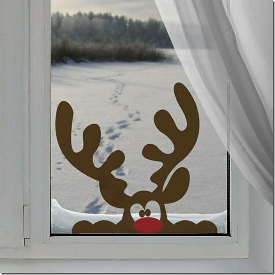 decoracion de puertas y ventanas navidad  (12)