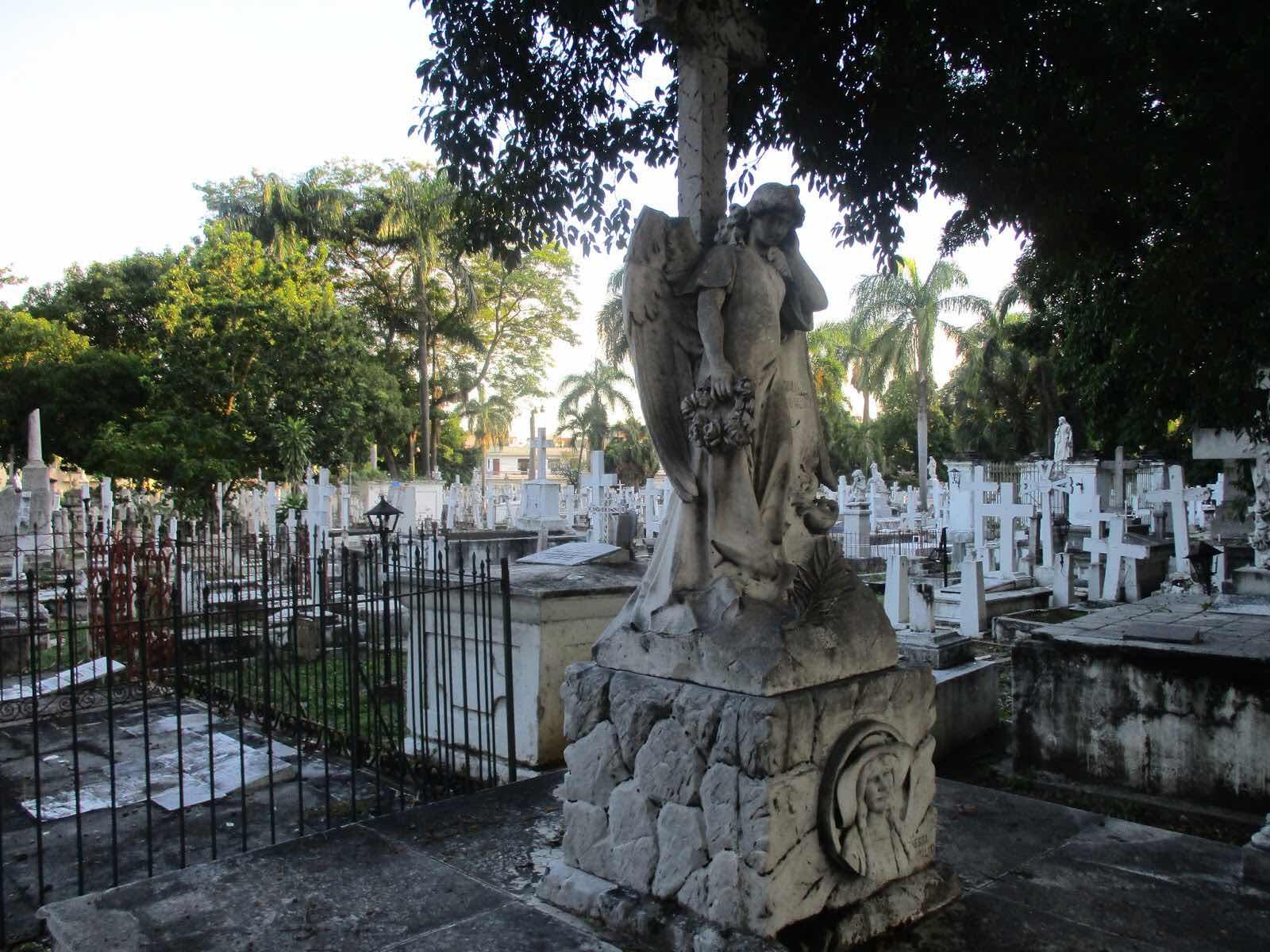 El cementerio donde hay muchos difuntos sin identificar