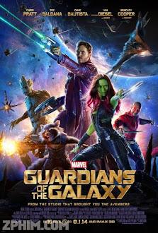 Vệ Binh Dải Ngân Hà - Guardians of the Galaxy (2014) Poster