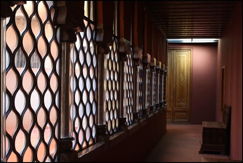 Corridor in Antonio Gaudi's Palau Guell