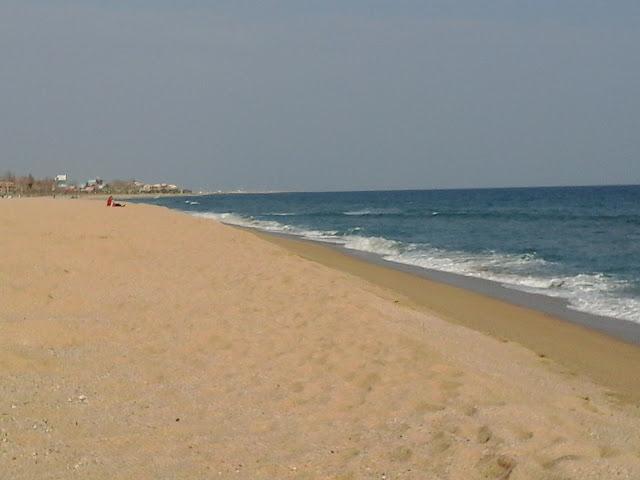 пляж Оката
