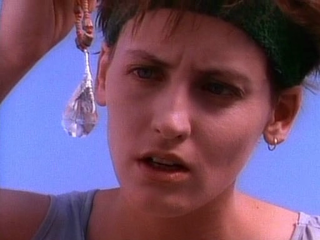 LEAGUE OF THEIR OWN and TANK GIRL star Lori Petty was an early guest star on the series as well.