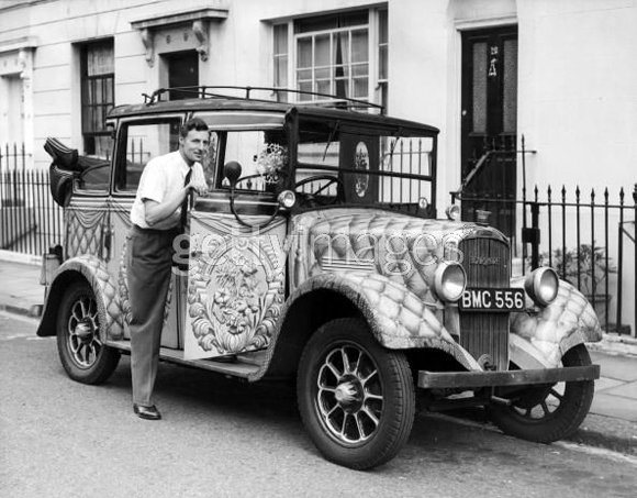 Ancient Art Car Tax from London by Roy Anderson