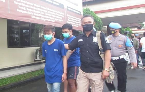 Satpam Korban Begal, Tiga Pelaku Ditangkap Polresta Bandung Polda Jabar