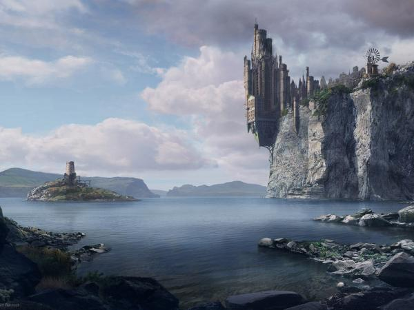 Fantasy Of Weird Lands, Magical Landscapes 4