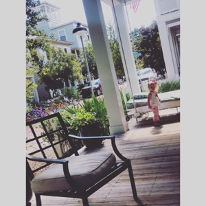 Huge cottage front porches are the best
