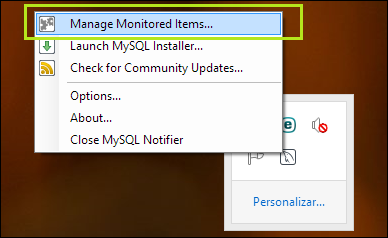 mysql notifier
