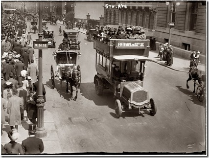 Fifth Avenue x New York 1913