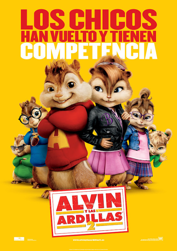 Alvin y las ardillas 2 (Betty Thomas, 2.009)