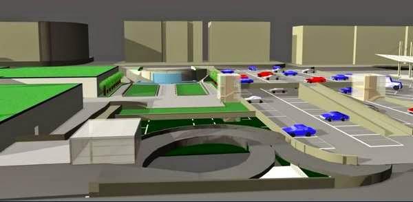 progetto parchrggio Sanzio