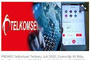 Promo Telkomsel Bulan Juli 2020: Isi Pulsa Rp 40 Ribu Dapat Kuota 10 GB, All Jaringan