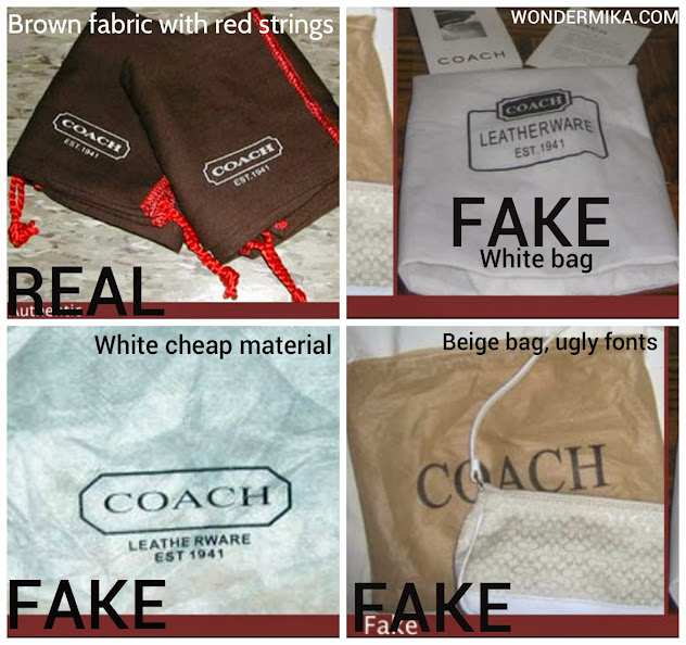 How To Spot A Fake Coach Bag Pictures