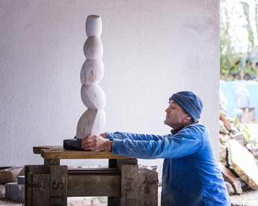 Young Able: PORTUGUESE MARBLE, 2013: W 19cm, H 85 cm, D 18 cm; £4,800