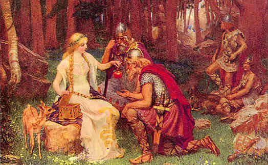 Idunna And The Apples Of Youth, Asatru Gods And Heroes