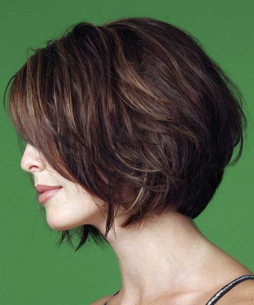 Tremendous Short Layered Wavy Haircut For Women Over 30 Fashion Qe Short Hairstyles Gunalazisus
