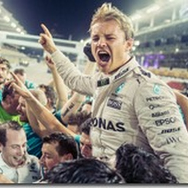 Nico Rosberg annuncia ritiro dalla F1