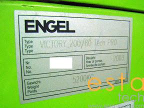 Engel Victory 200/80 Tech Pro (2003)