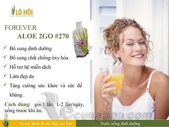 Nước uống dinh dưỡng Forever Aloe2Go mã số 270