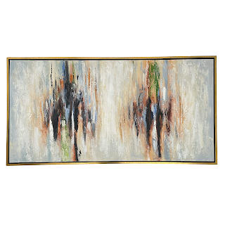 Contemporary Abstract Large Scale Acrylic Painting