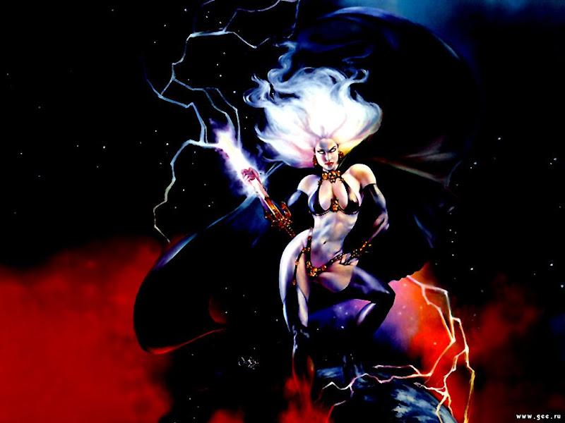 Little Sorceress Of Heaven, Magic And Spells 2