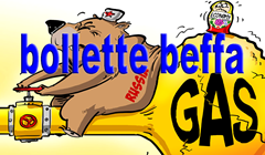 Bollette gas beffa