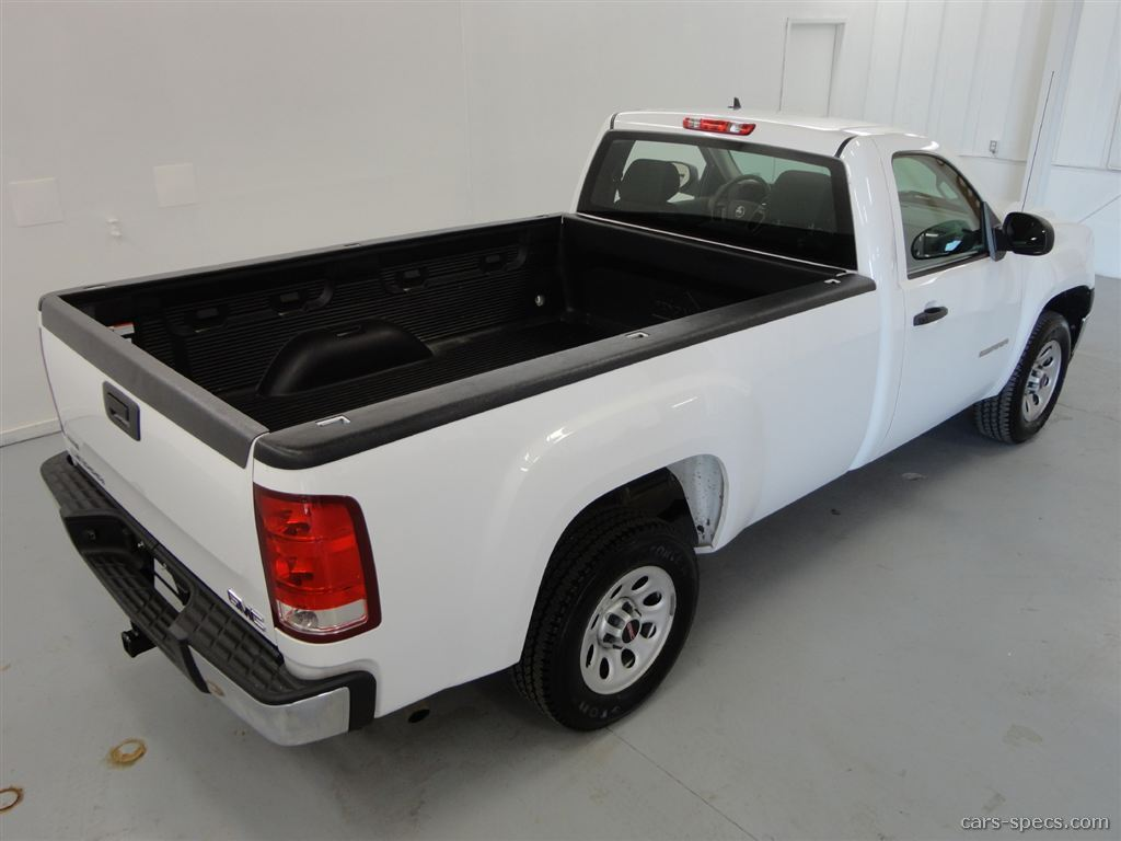 2010 gmc sierra 1500 regular cab specifications pictures prices. Black Bedroom Furniture Sets. Home Design Ideas