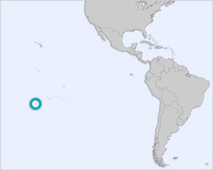 Cook Islands location map
