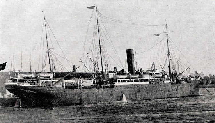 El MANUEL CALVO. Foto del Libro de Informacion para el Pasajero. Compañia Trasatlantica. Año 1923.JPG