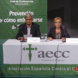 X Ciclo Conferencias AECC Montijo