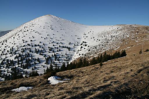 Steny - severný vrchol (1535m)