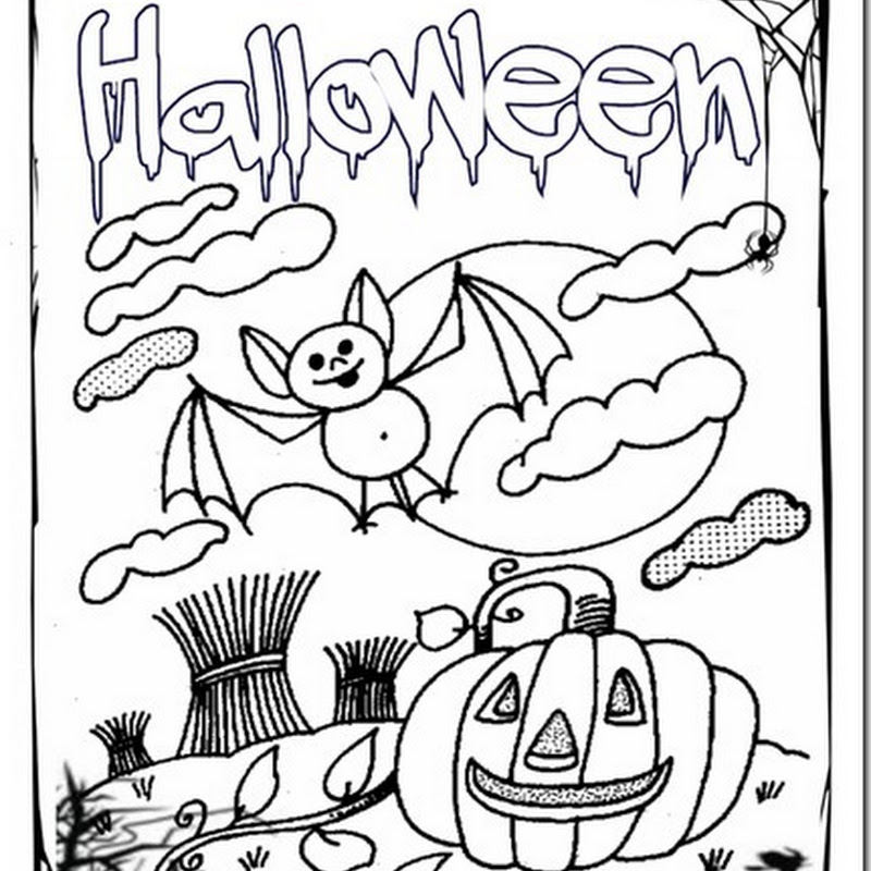 Colorear Halloween para niños