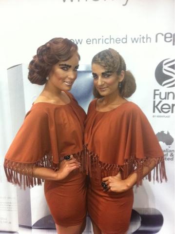Sydney International Hair Expo Melissa Sassine Makeup Artist
