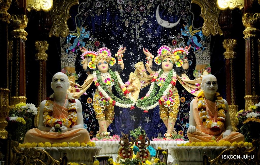 ISKCON Juhu Chandan yatara Deity Darshan on 9th May 2016 (2)