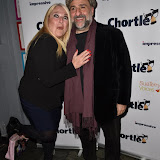 OIC - ENTSIMAGES.COM - Vanessa Feltz and Omid Djalili at the  Chortle Comedy Awards in London 22nd March 2016 Photo Mobis Photos/OIC 0203 174 1069