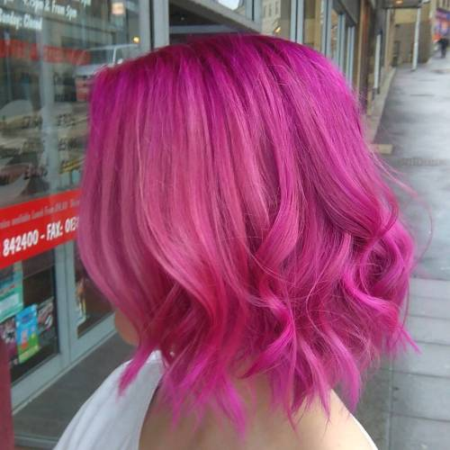 The Best Unboring Styles with Magenta Hair Color By Professional 2017 9