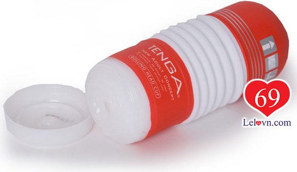 Tenga Rolling Head Cup có tích hợp dịch bôi trơn