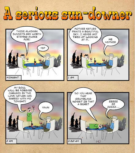 A serious sun-downer
