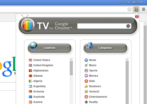 Live TV Channels List