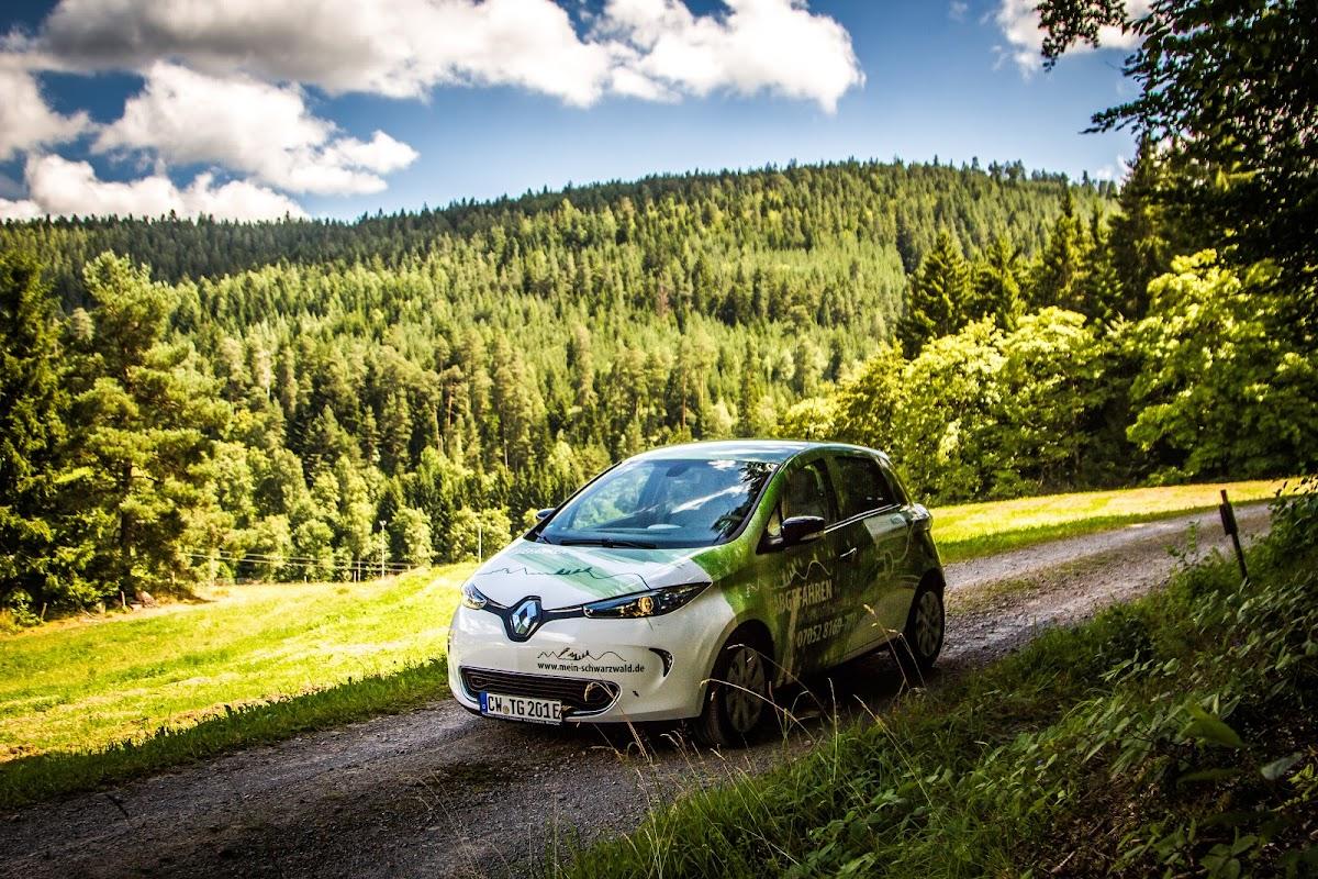 Fahren und Einfahren E-Mobil mieten ab 19,00€