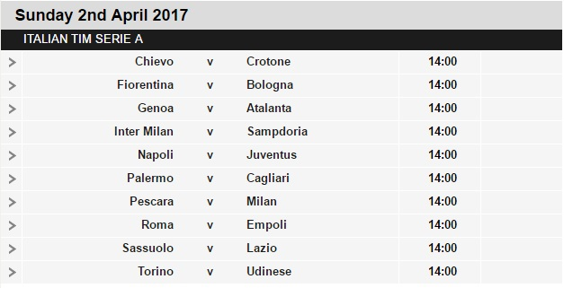 Serie%2BA%2Bschedule%2B30 Planning a Football Trip to Italy - SERIE A FIXTURES 2016/17