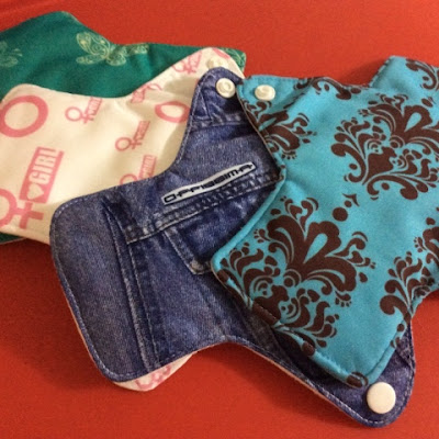 Going green: Cloth Pads