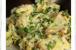 Spinach Potato Salad