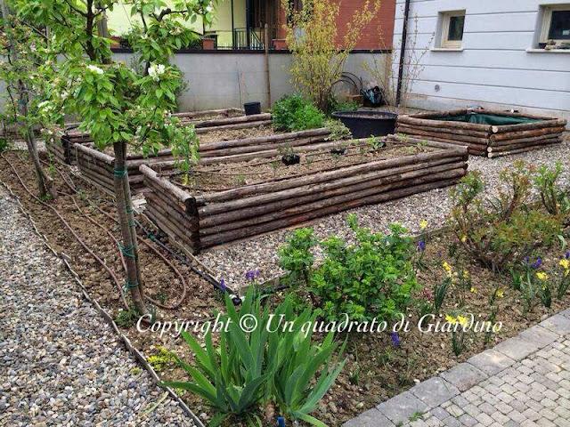 costruire un orto rialzato cassoni vasche per orto
