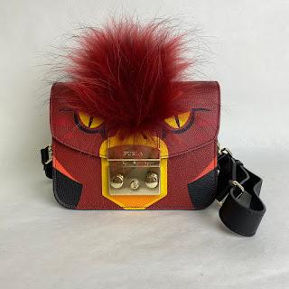 Furla Angry Bird Crossbody Bag