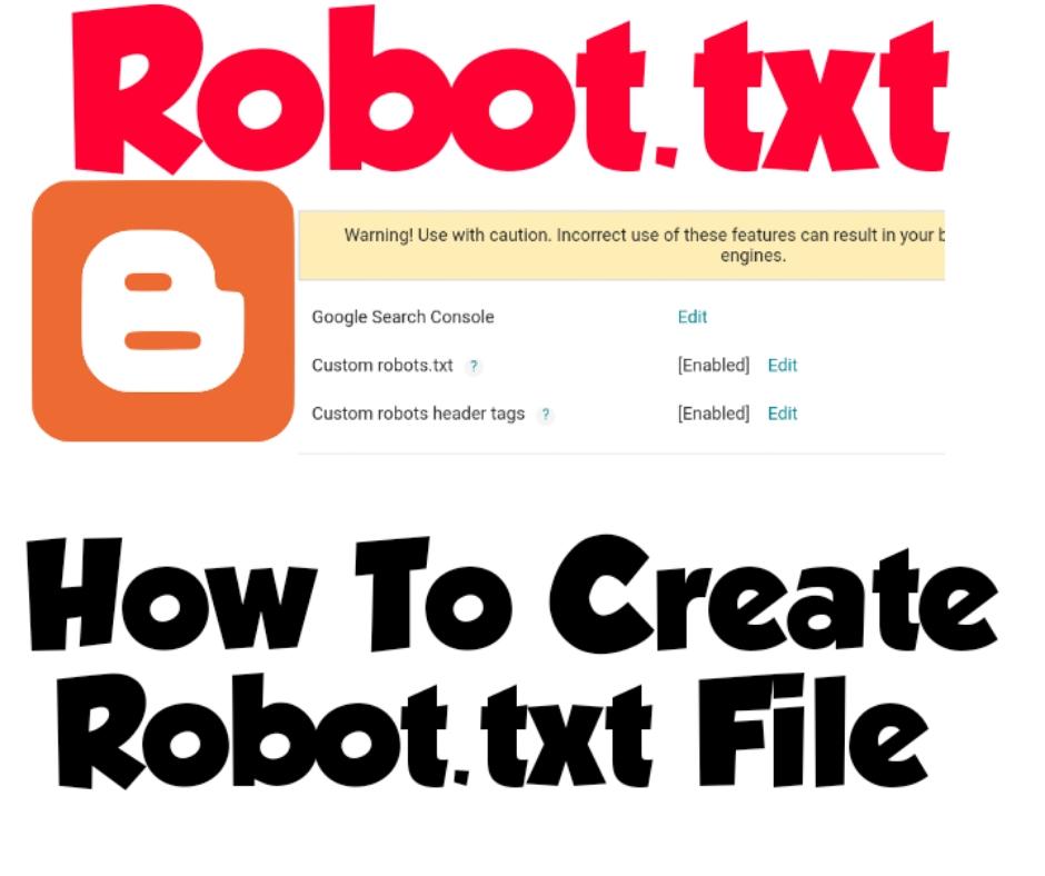 How To Creat Robots txt File Very easy method Urdu hindi