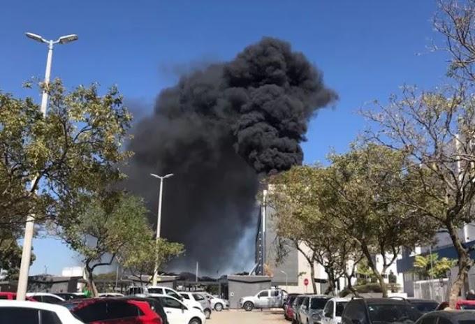 Incêndio em hospital no DF faz pacientes serem retirados às pressas