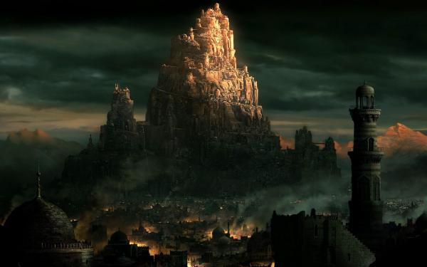 Tower In Darkness, Magical Landscapes 2
